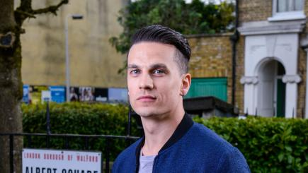 Aaron Sidwell rejects claims he is leaving EastEnders 'in protest'