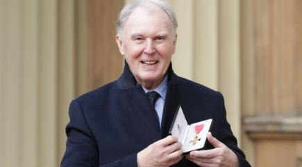 Tim Pigott-Smith in King Charles III Joan Marcus