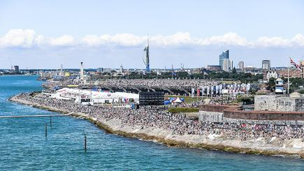 America's Cup World Series Portsmouth: Setting sail for a sustainable event