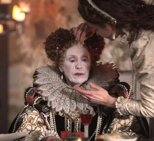 Anita Dobson in make-up