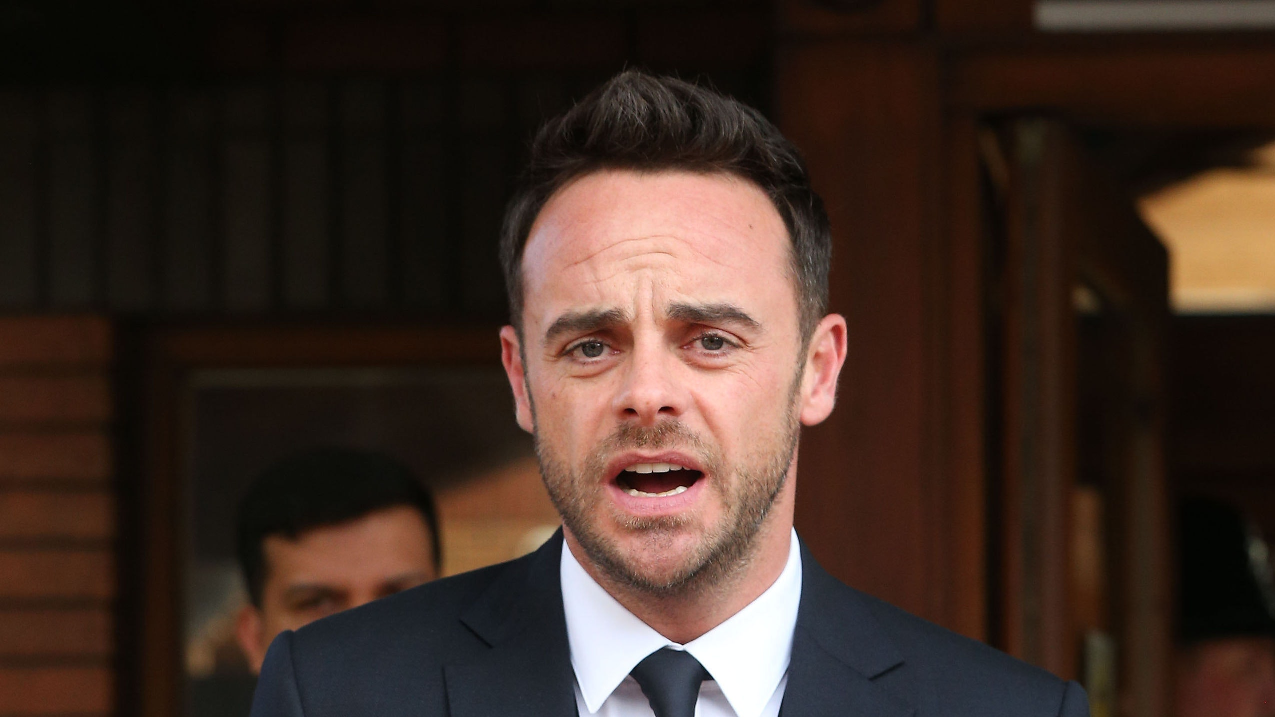 Ant reunites with Dec for first day back at work on BGT