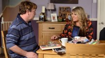 Are EastEnders Ian Beale and Sharon Mitchell related?