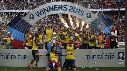 Arsenal FA Cup winners 2015