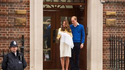 The Duke and Duchess of Cambridge are back at home with their as yet unnamed princess