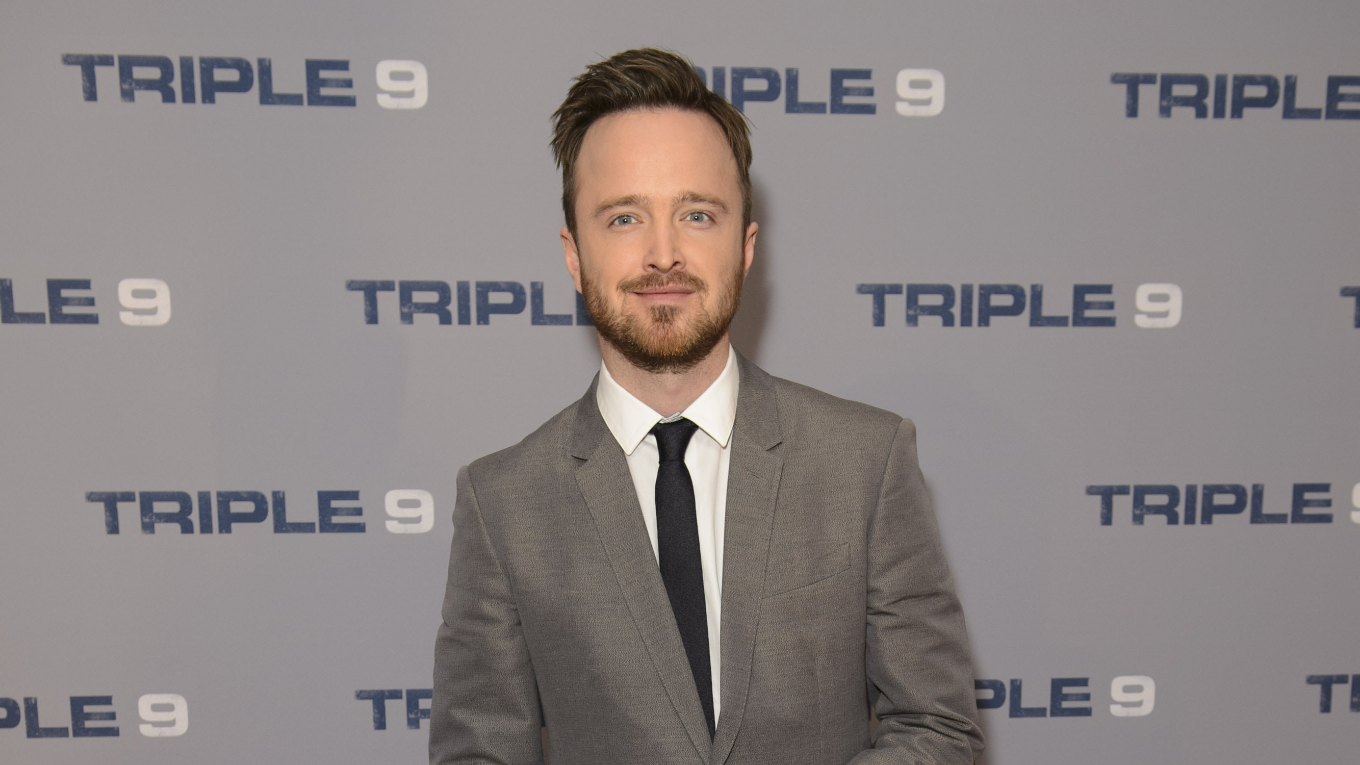 'Breaking Bad' star Aaron Paul and wife Lauren welcome first child