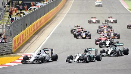 Drivers in the grand prix