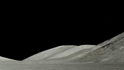 Can you see the UFO in this Nasa photo of the Moon?