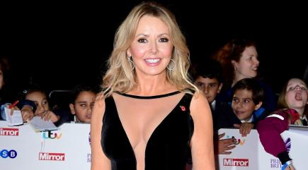 Carol Vorderman announces death of beloved mum