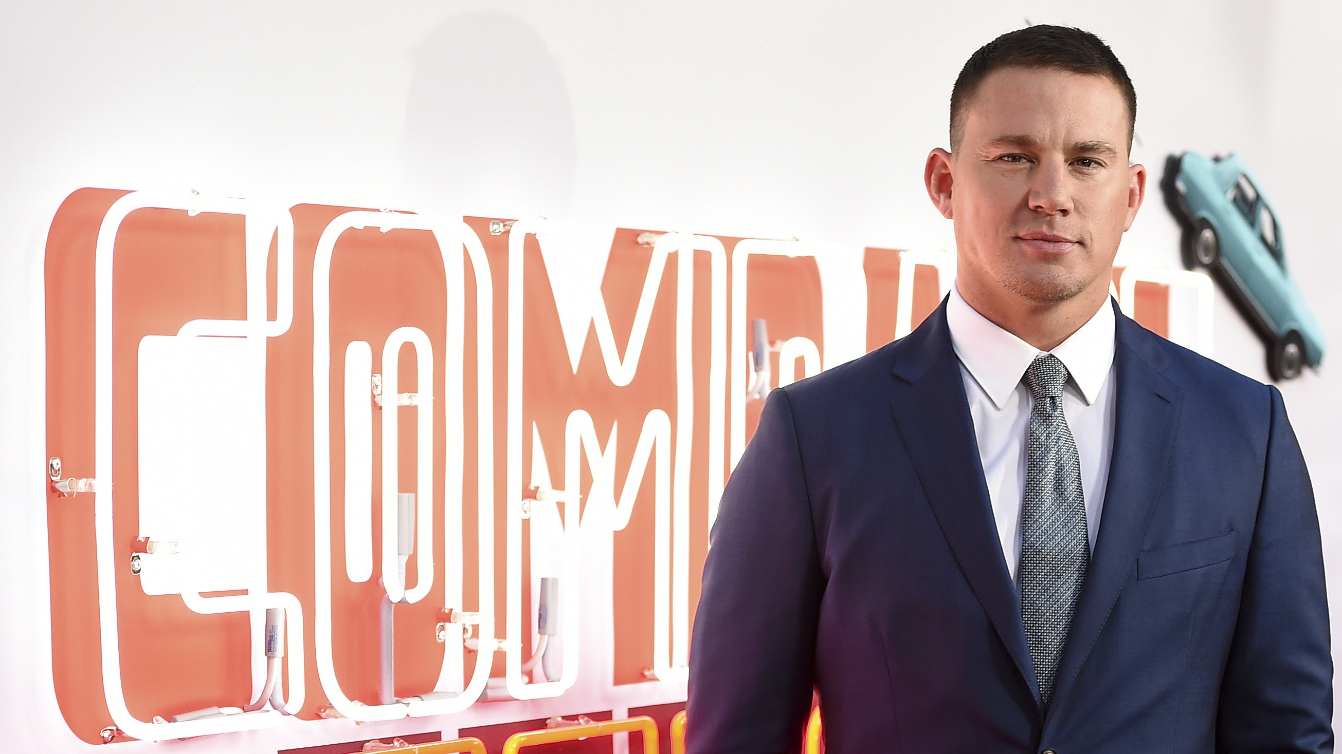 Channing Tatum swaps 'Russian bad guys' for Americans in Comrade