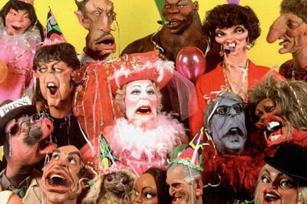 Characters from the Spitting Image TV series