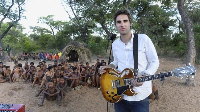 Charlie Simpson Singing in the Rainforest 1