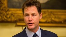 Deputy Prime Minister Nick Clegg is brushing off the significance of a former Lib Dem peer's decision to help bankroll Labour candidates