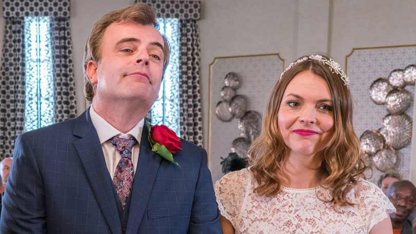 A Coronation Street Dream Wedding Could Be Destined For Disaster As Tracy Barlow And Steve Mcdonald Prepare To Tie The Knot Second Time