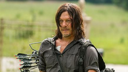 Daryl from the TV programme The Walking Dead