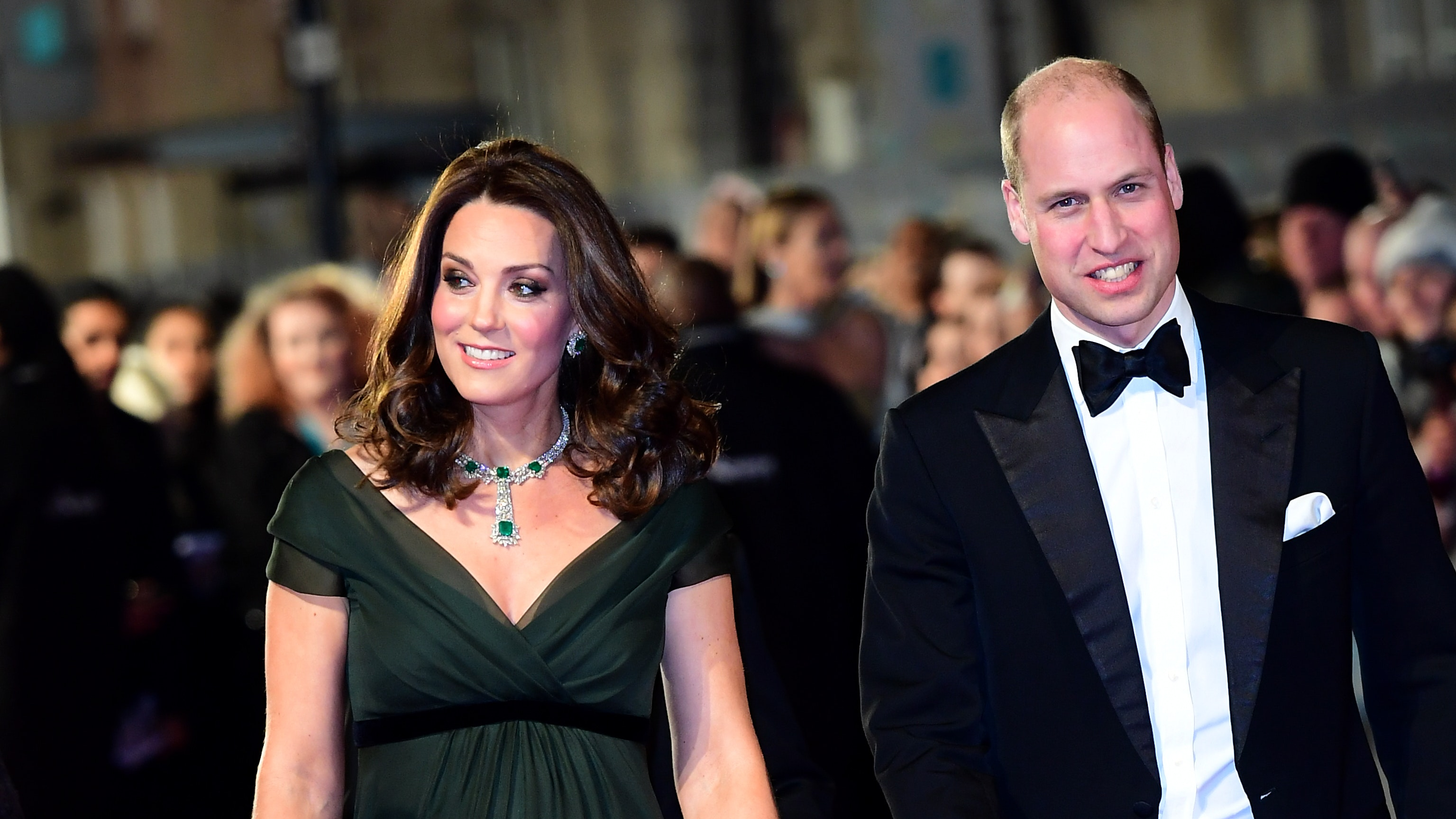 Duchess of Cambridge Kate finds muted middle way