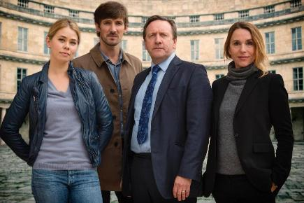 The 100th episode of Midsomer Murders features stars from Borgen and The Killing