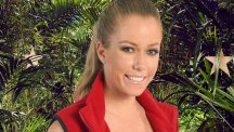 Kendra Wilkinson was teamed up with Edwina Currie