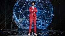 First look at Richard Ayoade as the host of the new Crystal Maze