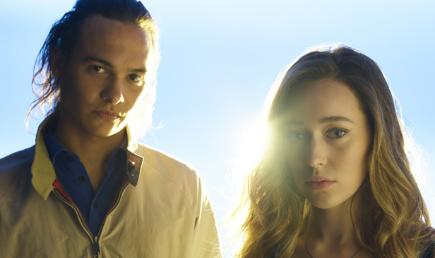 Frank Dillane and Alycia Debnam-Carey in Fear the Walking Dead