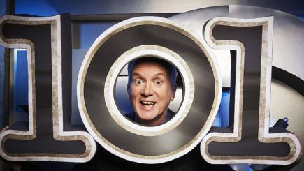 Get the low down on the new series of room 101 with frank skinner