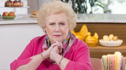 Celebrities arrive to say goodbye to Denise Robertson