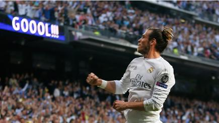 Gareth Bale opens the scoring against Man City