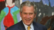 George W Bush doesn't seem to agree with Donald Trump about much