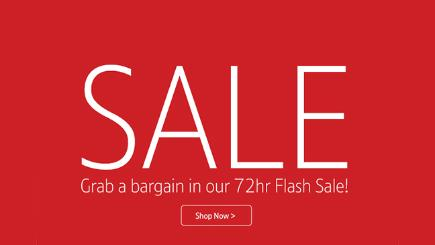 Grab a bargain in the BT Shop 72hr Flash Sale