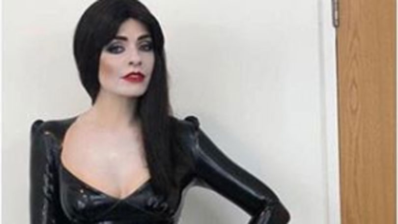 Holly Willoughby Was Transformed Into Morticia Addams For The Celebrity Juice Halloween Episode
