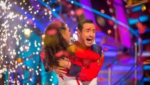 Joe McFadden becomes oldest ever Strictly champion after win with Katya Jones