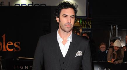 Sacha Baron Cohen Showed Something Very Disgusting on Jimmy Kimmel