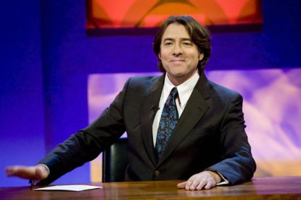 Jonathan Ross poses for a promotional picture for his Friday Night With Jonathan Ross chat show