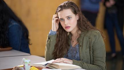 Katherine Langford, who stars in 13 Reasons Why as Hannah Baker