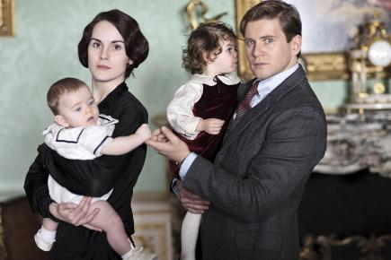 Lady Mary and Tom must face up to life as single parents in the new series.