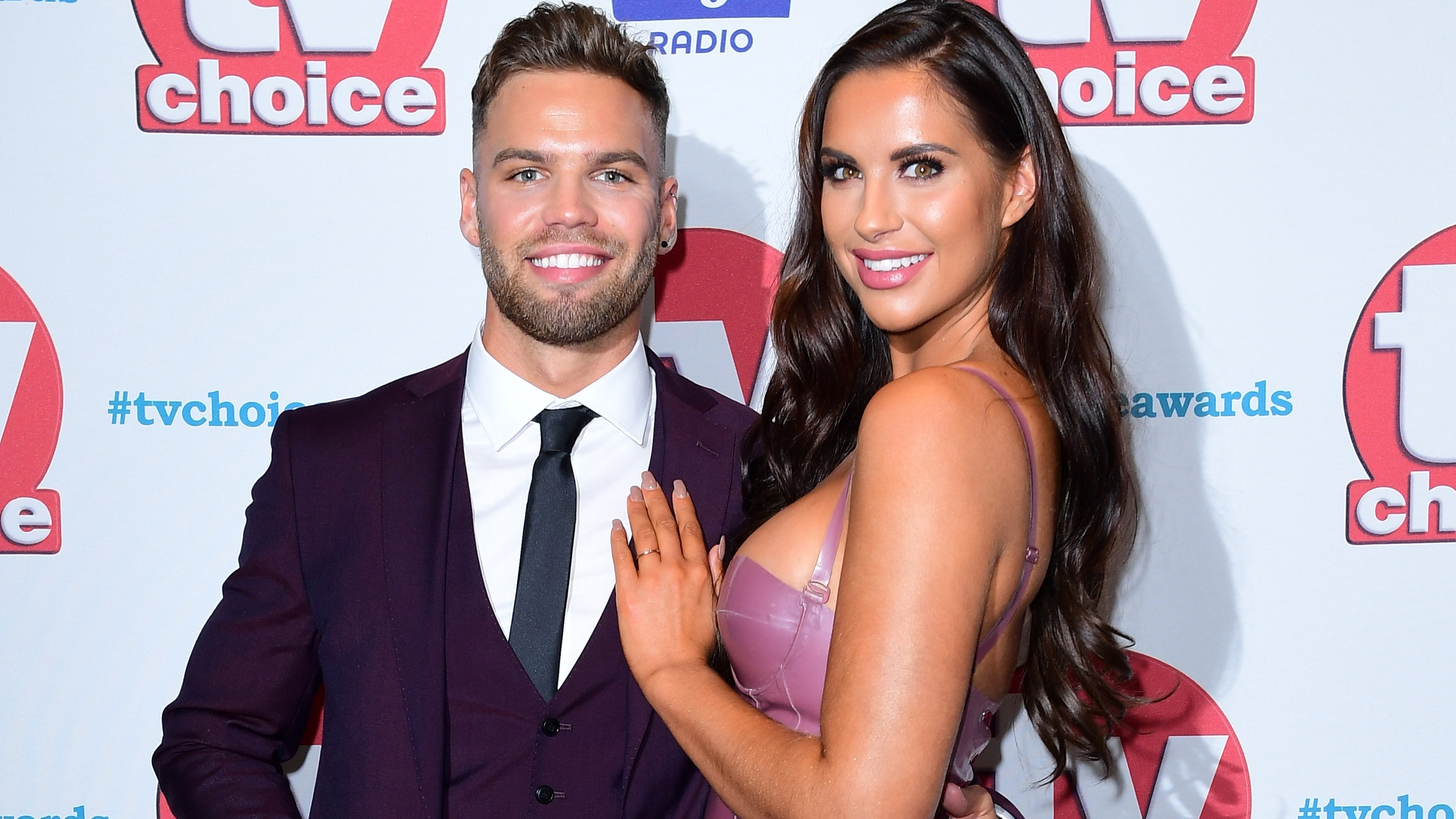Love Island Jessica Shears And Dom Lever Are Engaged After Meeting On The Itv2 Reality Show Three Months Ago