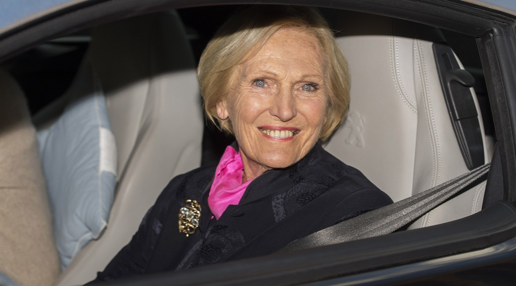 Mary Berry Signs Up To New BBC Food Show BT - British car show bbc