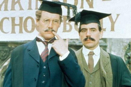 Michael Palin and Terry Jones in Ripping Yarns