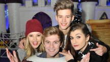 Only The Young launched the Ice Palace Grotto at Bluewater (Bluewater)