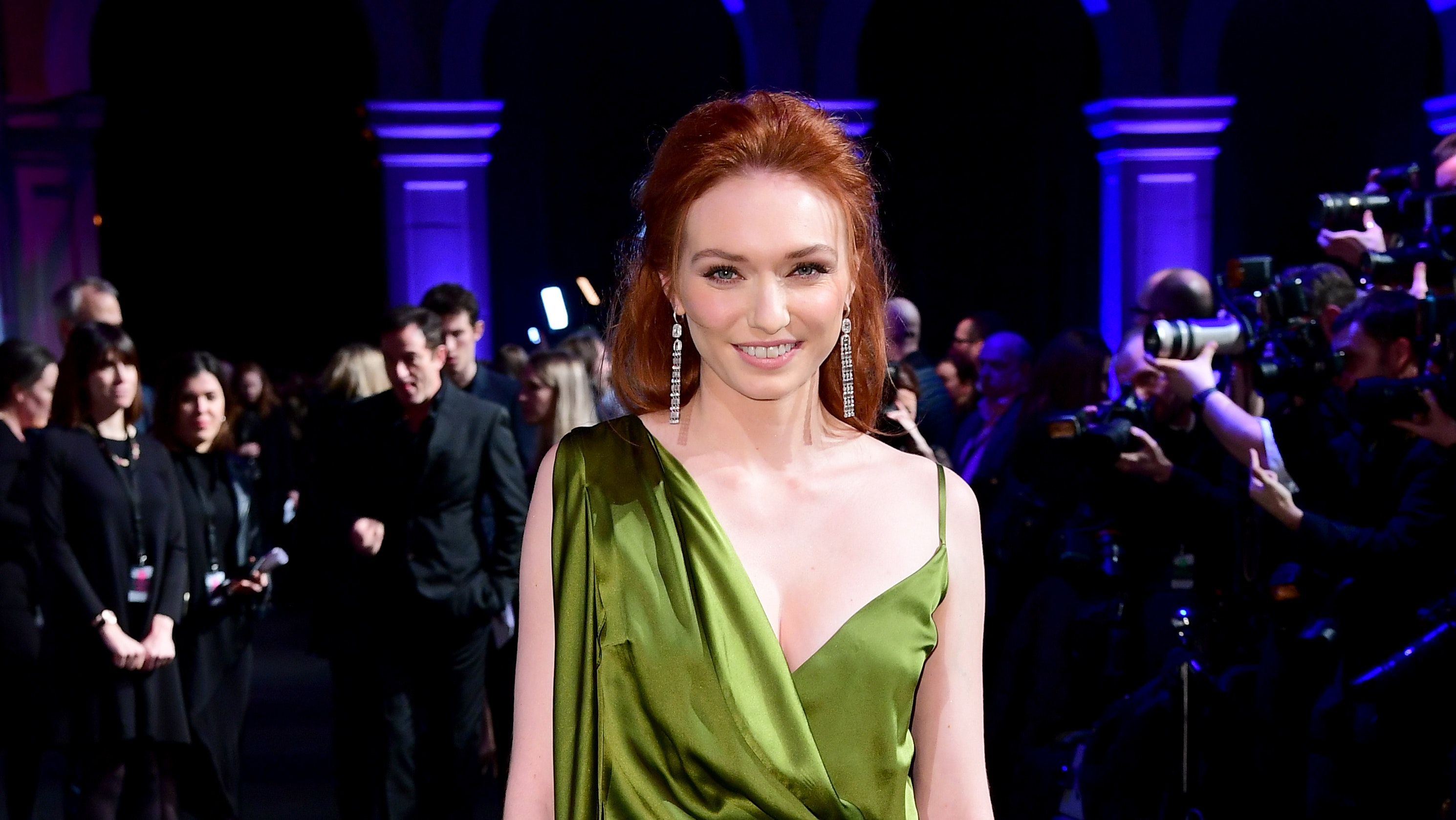 see through Video Eleanor Tomlinson naked photo 2017