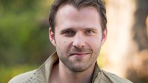 Nick Rhys plays Lockie Campbell in Hollyoaks