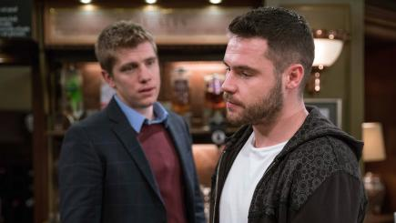 Robron fans given hope as Emmerdale's Aaron shows he still cares for Robert
