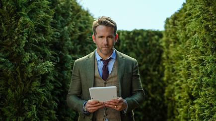 Ryan Reynolds in the new BT Mobile advert