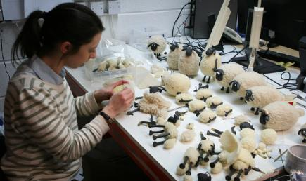 Shaun the Sheep behind the scenes