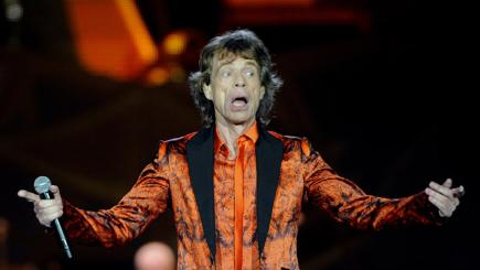 Showing his age? Veteran rocker Sir Mick Jagger