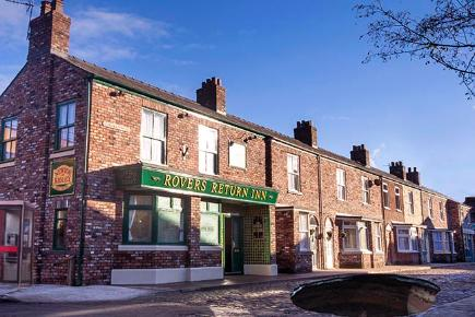 Sinkhole on Coronation Street