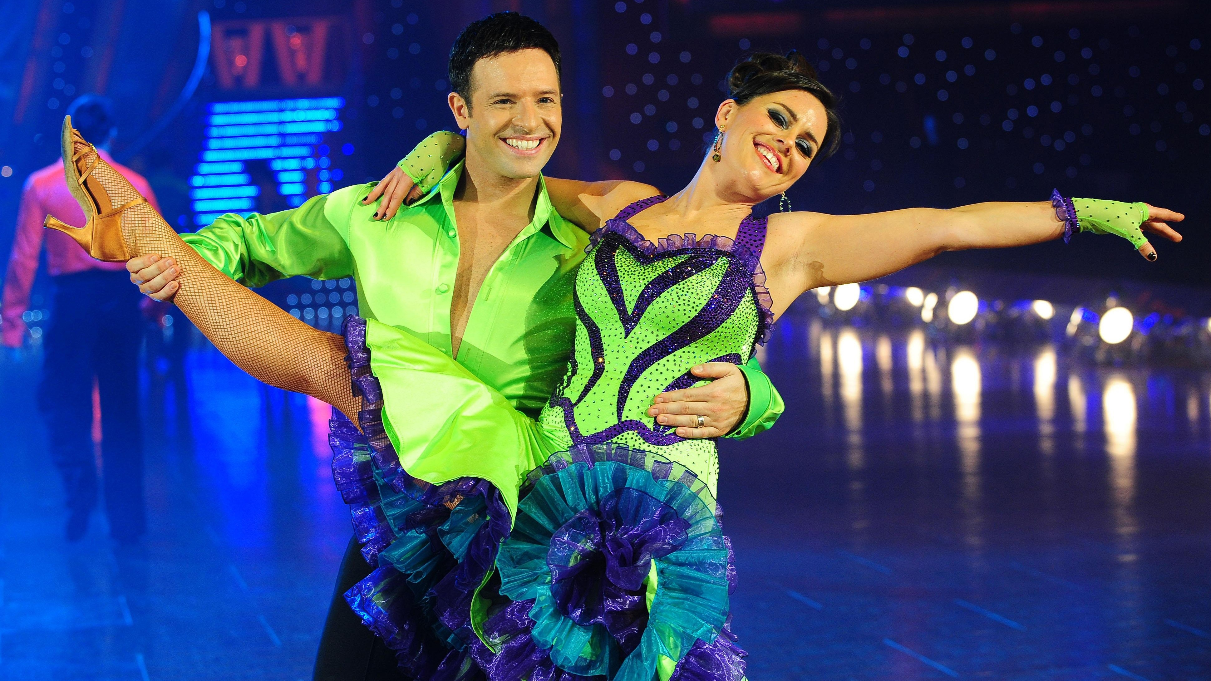 Stars dancing come on Eastenders strictly