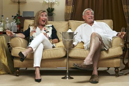 Steph and Dom from Channel 4's Gogglebox