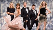 The Strictly Come Dancing Spectacular presenters and judges.