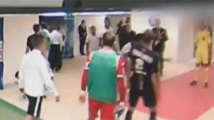 Striker headbutts PSG footballer