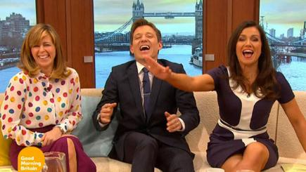 Susanna Reid embarrassed on Good Morning Britain